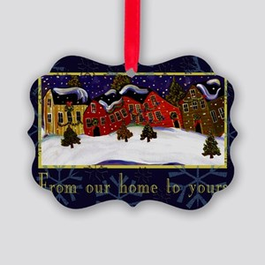 Vintage Style Picture Ornament
