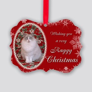 Ragdoll Cat Christmas Carda (Pk of 20)