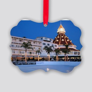 Hotel Del Coronado Picture Ornament
