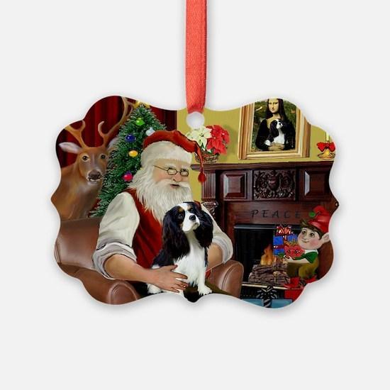 Santa's Tri Cavalier Ornament
