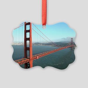 Golden Gate Bridge - SF Picture Ornament20)