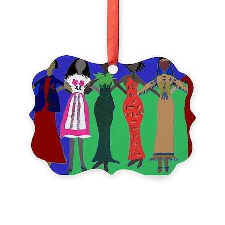 Women in Peace 1 Picture Ornament