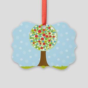 Alfresco Christmas Tree Picture Ornament
