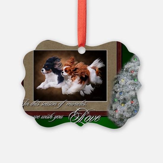 Cavaliers Christmas Ornament