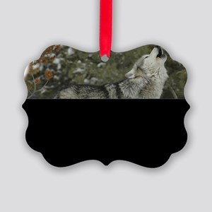 Woof Watcher Picture Ornament