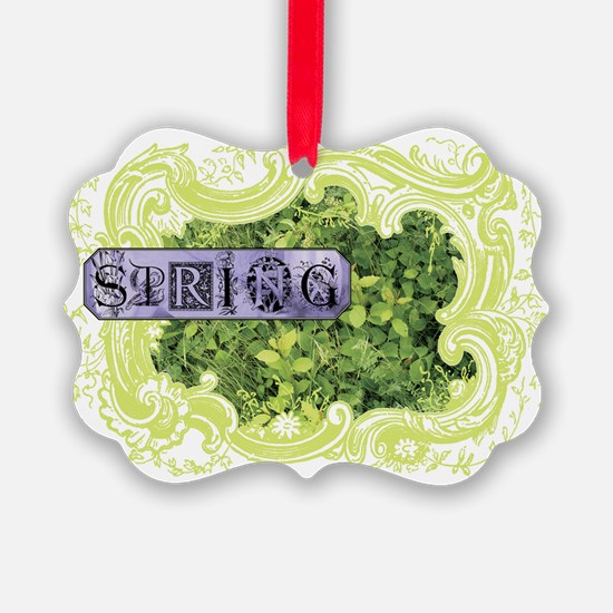Spring Year Round Ornament