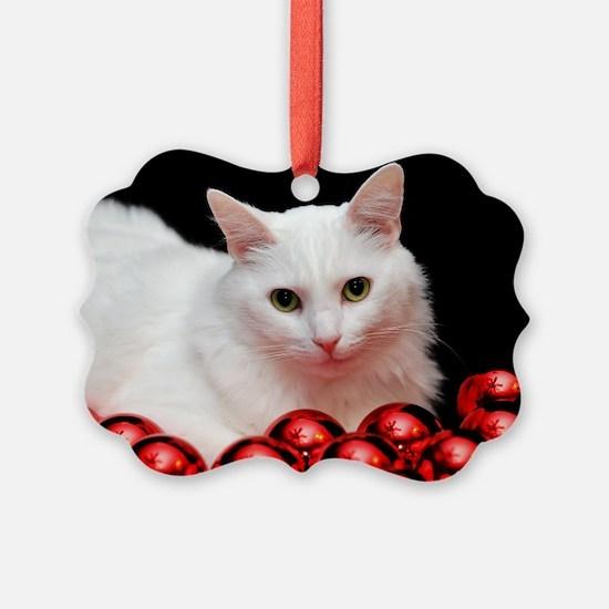 Xmas Cat Ornament