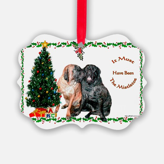 Mistletoe Kiss Ornament