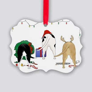 Pit Bull Picture Ornament