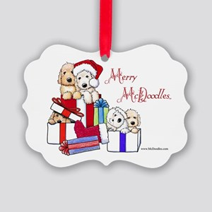 Merry McDoodles Picture Ornament