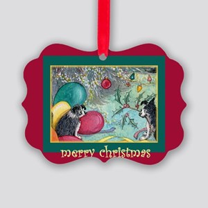 Deck the halls with boughs of Picture Ornament