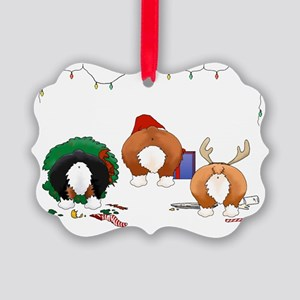 Welsh Corgi Christmas Picture Ornament