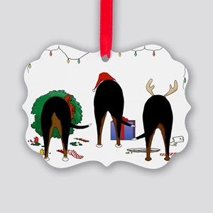 Swissie Christmas Picture Ornament