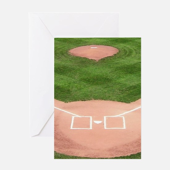 Baseball Field Greeting Cards