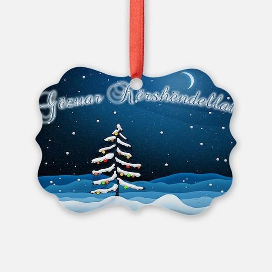 Christmas Night Ornament