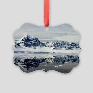 Antarctic Grace Solstice Picture Ornament