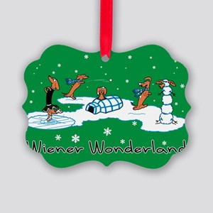 Wiener Wonderland 2010 Picture Ornament
