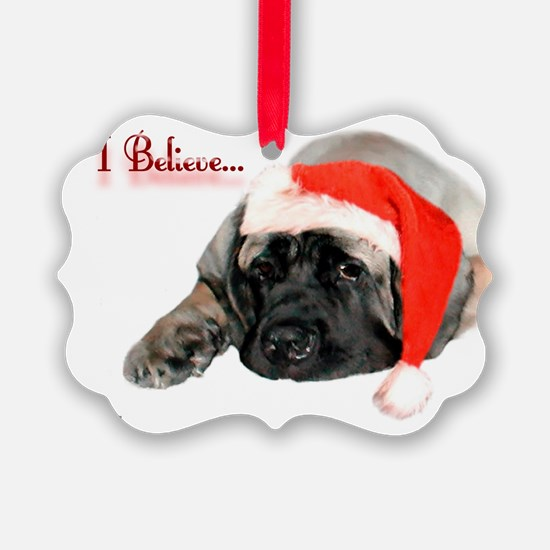 I Believe fawn Ornament