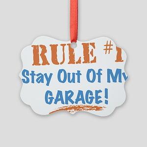 Garage Picture Ornament