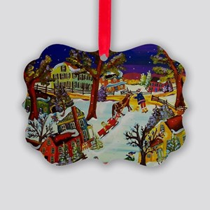 LOFTY PINES Picture Ornament