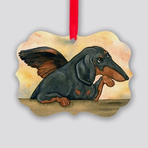 BT Dashie Cherub Picture Ornament