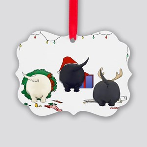 Scottish Terrier Picture Ornament