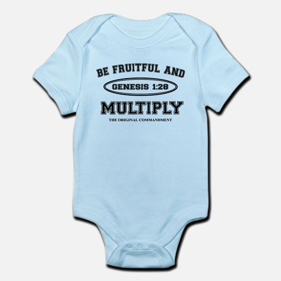 BE FRUITFUL AND MULTIPLY Infant Bodysuit