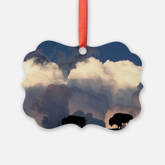 Bison Island Ornament
