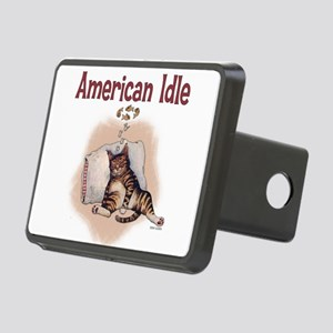 American idle Rectangular Hitch Cover