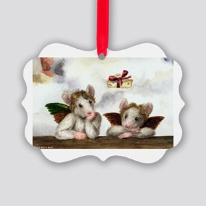 Holiday Wishes Picture Ornament