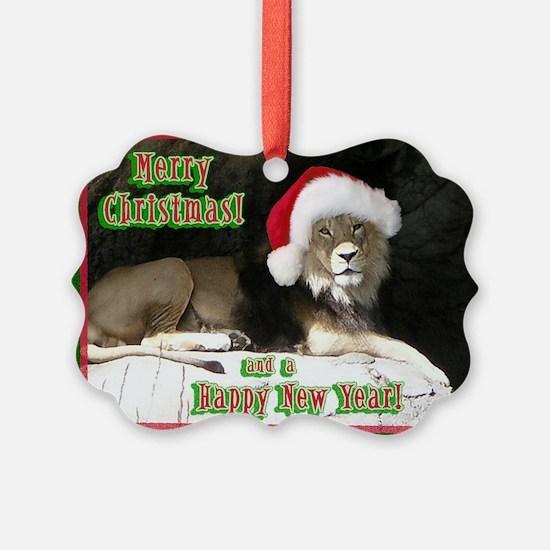 Helaine's Lion Xmas Ornament