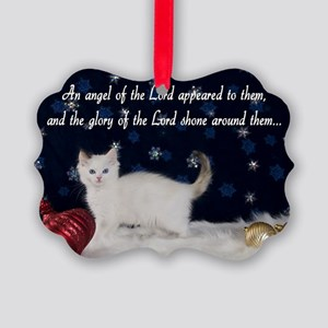 Ragdoll Kitten Card Picture Ornament