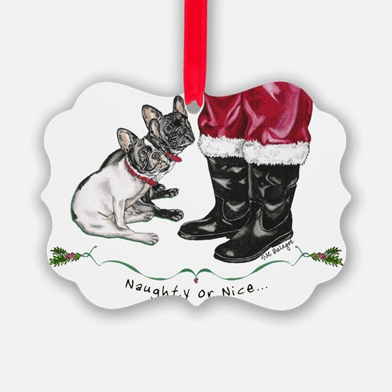 Naughty or Nice Ornament