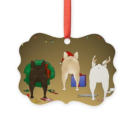 French Bulldog Picture Ornament