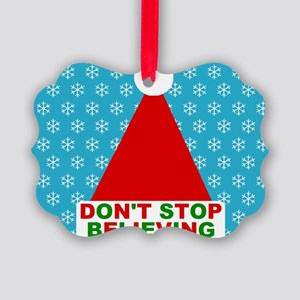 Don't Stop Believing Picture Ornament