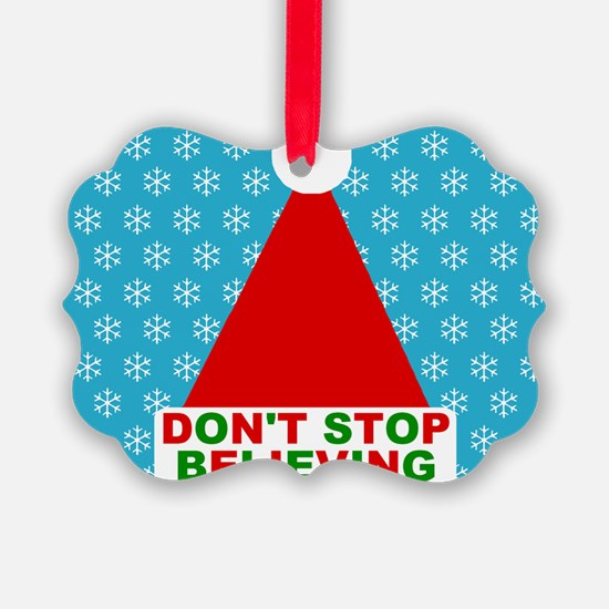 Don't Stop Believing Ornament