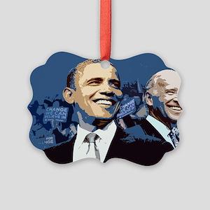 Barack - Biden Picture Ornament