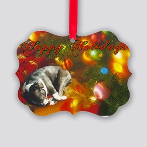 Heartwarming BT Christmas Picture Ornament