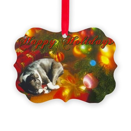 Heartwarming BT Christmas Picture Ornament