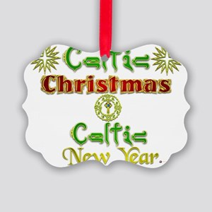 Celtic Xmas and New Year. Picture Ornament0