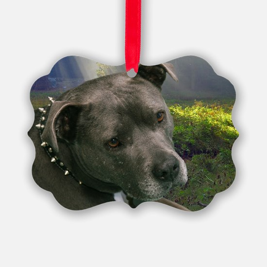 Cute Staffordshire Ornament