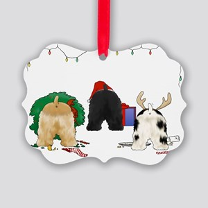 Cocker Spaniel Christmas Picture Ornament