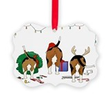 Beagle Picture Frame Ornaments