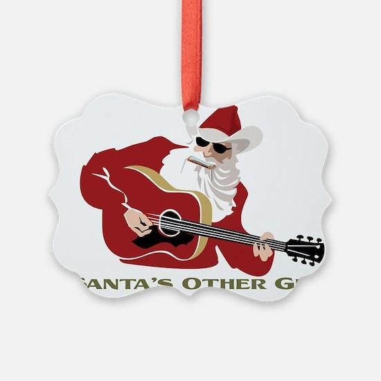 Santa's Other Gig Ornament