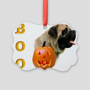 Boo Fawn Picture Ornament