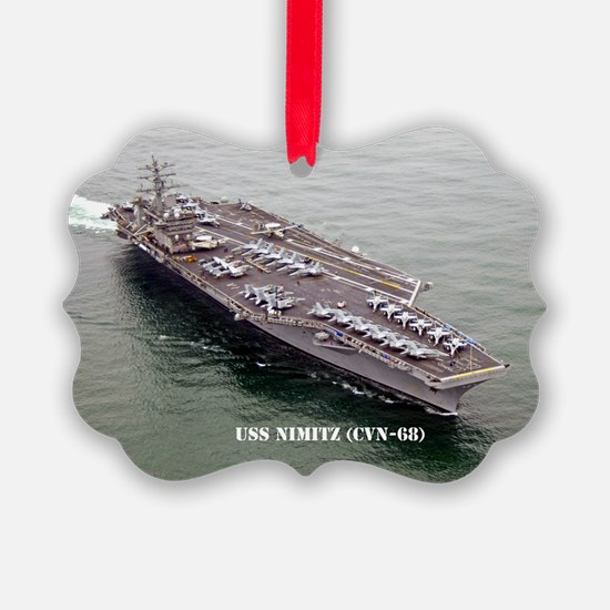 USS NIMITZ Ornament
