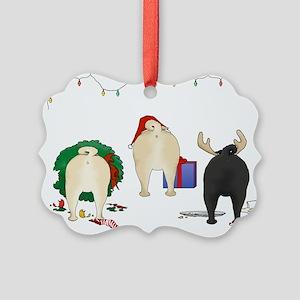Pug Picture Ornament