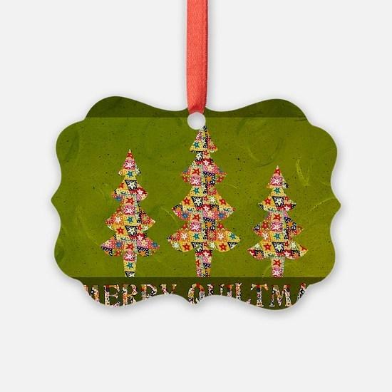 Vintage Quiltmas Ornament
