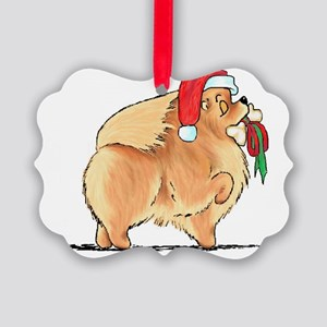Christmas Present Riley Picture Ornament