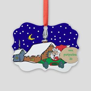 Gear4gearheads Santa Picture Ornament